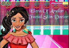 Игры Елена из Авалора лечит кожу лица