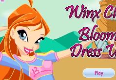 Игры Одевалка волшебницы винкс Блум