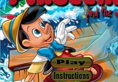 Игра Пинокио. Найди цыфры
