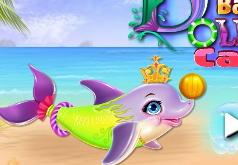 Игры Уход за детенышем дельфина