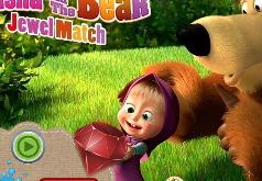 Игра Маша и Медведь Три в ряд