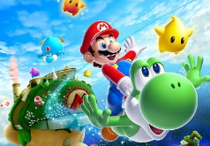 Игры Марио Вращающийся пазл