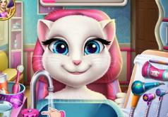 Игра: Зубной врач для кошки Анжелы