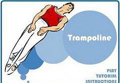 игры гимнастика на батуте
