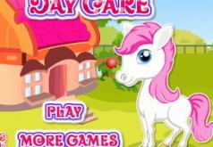 Игра Уход за хорошеньким пони