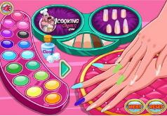 Игры Красивые ногти Амалии