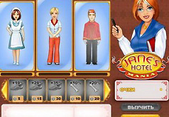 Игры для девочек отель джейн мания