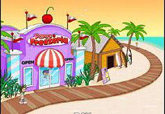 Игры для девочек кафе папы луи мороженое