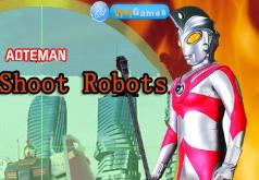 Игра Ультрамен Стрельба по роботам