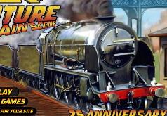 Игры Назад в будущее: сцена с поездом
