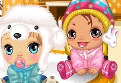 Игры малыши зимой