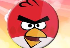 Игра Сердитые птички Круглый пазл