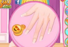 Игры Красивый маникюр для Барби
