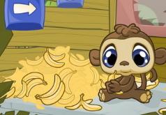 игры банановое счастье обезьянки