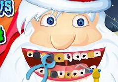 Игра Дед Мороз Лечит Зубы