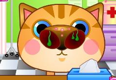 Игры Котёнок в ветеринарной клинике