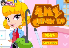 Игры amy clean up