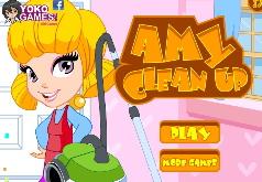 Игра Эмми занимается уборкой