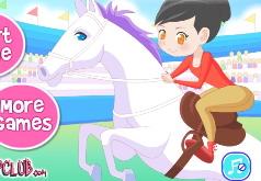 Игры Девочка верхом на лошади