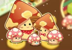 Игры дом грибочков