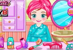 Игры Лучшая прическа Анны