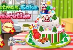 игры украшение торта к рождеству