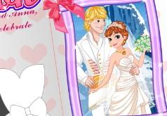 игры одевалки холодное сердце свадьбы