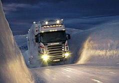 Игра Зимний грузовик