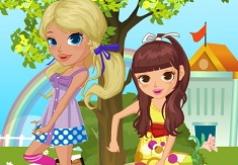 Игры Сестрёнки в школе
