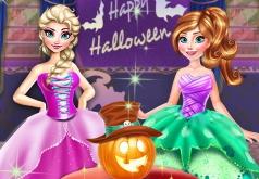 Игры Холодное сердце: Вечеринка в Хэллоуин