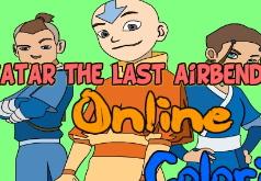 Игры Раскраска Аватар Легенда об Аанге