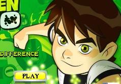 Игра Бен 10 Определите различие