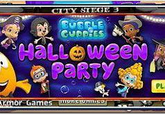 игры гуппи и пузырьки хэллоуин