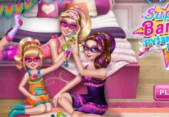 Игры Вечеринка супер Барби