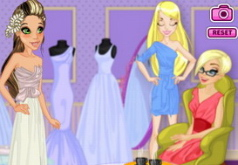 Игры Примерка свадебного платья