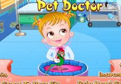 игры малышка хейзел врач