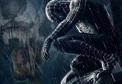 игры человек паук в чёрном костюме