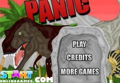 игры панический бег динозавров