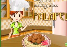 Игры Кухня Сары Готовим фалафели
