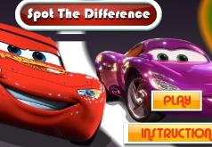 Различия Тачек игры найди отличия часть 2