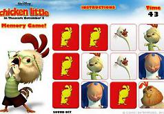Игры цыпленок цыпа карты памяти