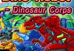 игры роботы динозавры корпус динозавров
