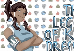 игры аватар легенда о корре одевалки