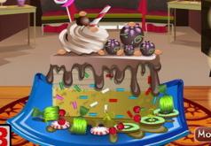 игры украшение шоколадного пирога
