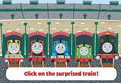 Игры Томас и его друзья Эмоции паровозиков
