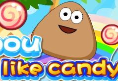 Поу как конфета играть   бесплатно