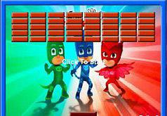 Игры Герои в масках Прыгающий шарик
