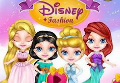 Игры Малышка Барби Принцесса Диснея часть 2