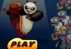 Игры панда против зомби