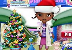 Игра Доктор Плюшева Рождественские покупки